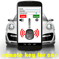 Screenshot of Remote Control Key for Car