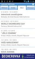 Screenshot of Lyžování InfoČesko