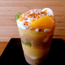 Sunday Breakfast Two-Ice Cream Parfait