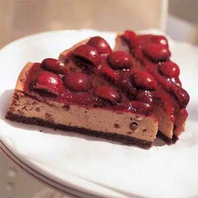 Black Forest Cherry Cheesecake