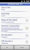 Screenshot of 3G Battery Saver Pro + WiFi BT