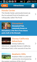 Screenshot of Anaheim Disneyland Guide & Map