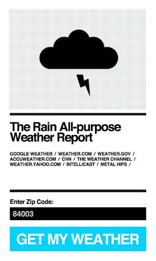免費天氣App|Rain Weather Forecast|阿達玩APP