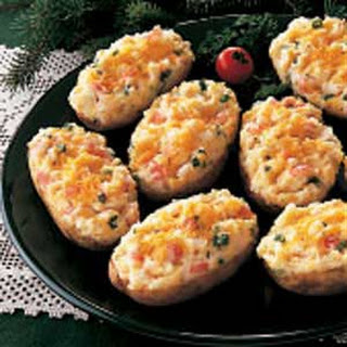 Crab-Stuffed Potatoes