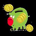 El dinero Piggy icon