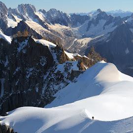 Shamoni by Alik Zlotnik - Landscapes Mountains & Hills ( france, shamoni, alps )