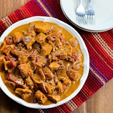 Chicken Paprikash (Paprika Chicken)