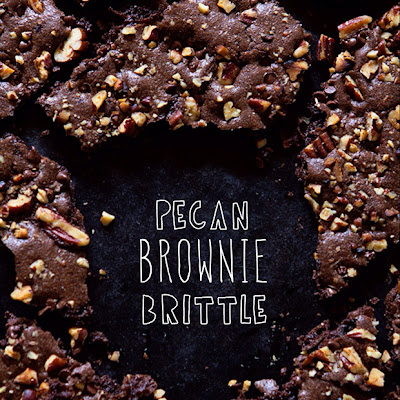 Pecan Brownie Brittle