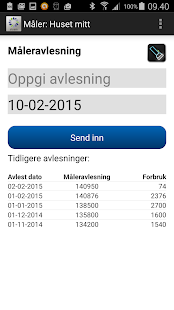 Eidsiva Strømapp privat - screenshot