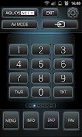 Screenshot of Sharp Smart Remote +