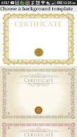 Screenshot of Certificate Maker! Pro