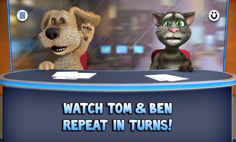talking tom talking friends