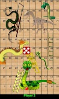 Screenshot of Snakes Ladders