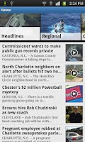 Screenshot of WCNC Charlotte News