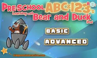 Screenshot of Pre-School ABC / 123 Learning