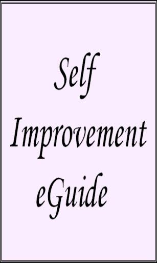 Self Improvement eGuide