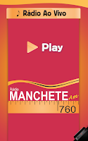 Screenshot of Rádio Manchete 760