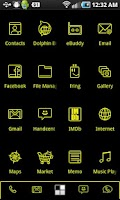 Screenshot of LightWorks Yellow ADW Theme