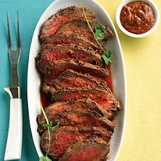 Harissa-Crusted Tri-Tip Roast