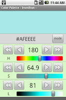 Screenshot of Color Palette - Iromihon -