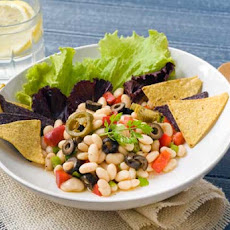 Gluten Free White Bean Chili Salad