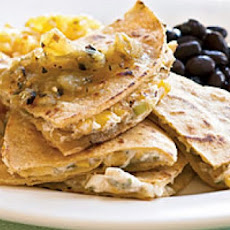 Zesty Corn Quesadillas