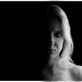 Dark&Bright human part by Sharukas Neklauskit - People Body Parts