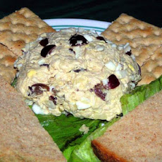 Exotic Chicken Salad, Diabetic Fare With