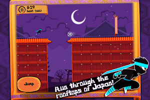 Screenshot of Ninja Nights - Runner Game