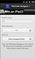 Screenshot of FilesTube Navigator