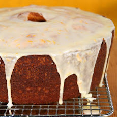 Donnell's Orange-Pumpkin Spice Cake