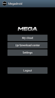 Screenshot of MegaDroid
