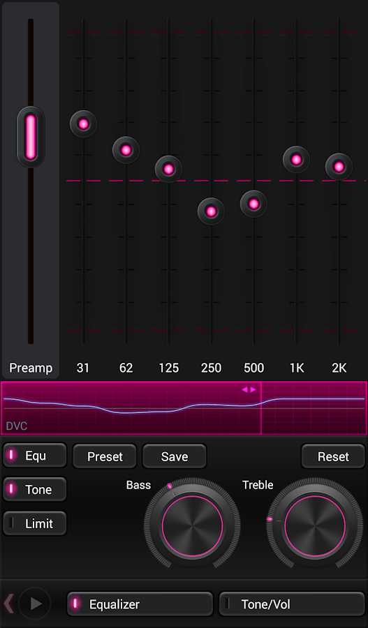 Mad Jelly Pink Poweramp Skin Screenshot 1