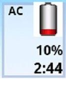 Screenshot of Smart Battery Time