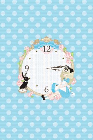 Sleeping-Alice clockWidget