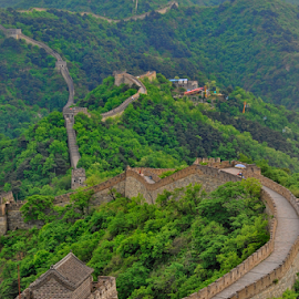 Great Wall of China by Ferdinand Ludo - Buildings & Architecture Public & Historical ( beijing side, long long wall, separate china, historical )
