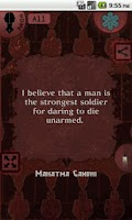 Screenshot of Praana Deep Quotes
