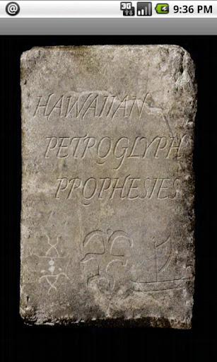 Hawaiian Petroglyph Prophesies