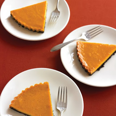 Chocolate-Pumpkin Tart