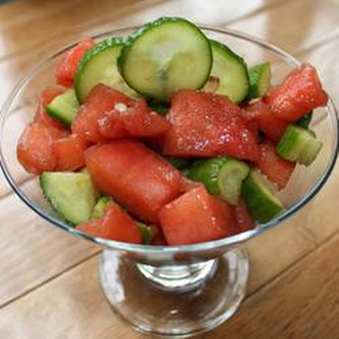 Refreshing Cucumber-Watermelon Salad Recipe | Yummly