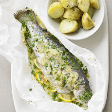 Baked Trout In Paper