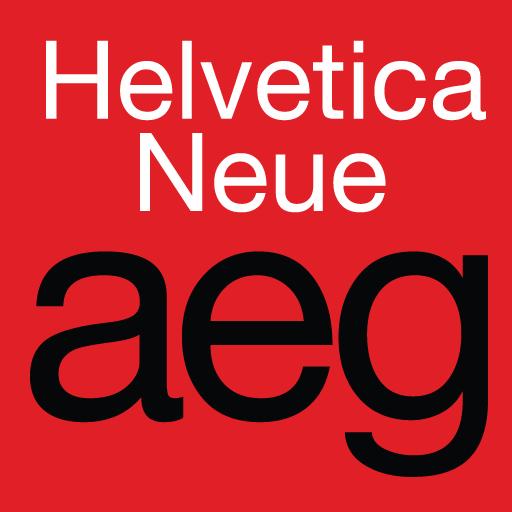 Helvetica Neue FlipFont LOGO-APP點子