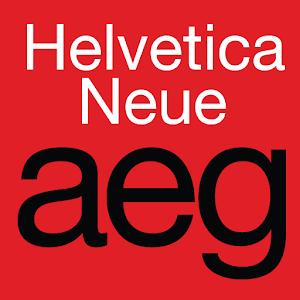 Cover art Helvetica Neue FlipFont