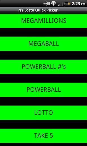 NY Lotto Quick Picker