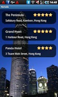 Screenshot of Hong Kong Travel Guide