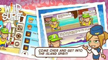 Screenshot of Wild Surf - Paradise Island