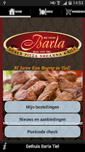 Eethuis Barla - screenshot