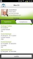 Screenshot of Rue de l'Emploi, offres emploi