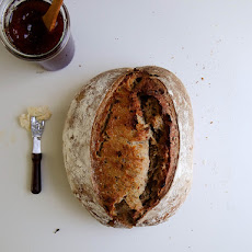 Date Sourdough Bread