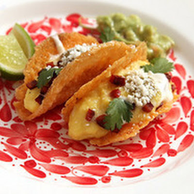 Crispy All-Cheese Taco Shells